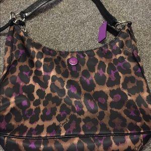 Handbags - Coach Leopard Purse